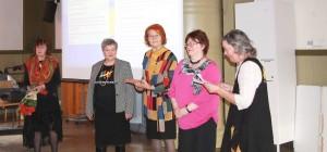 Vuoden 2014 SARA  Kirsti Ojala ja Terttu Välikangas