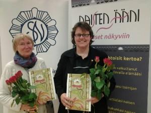 Kaksi naista näkyviin Oulussa 10.9.2015