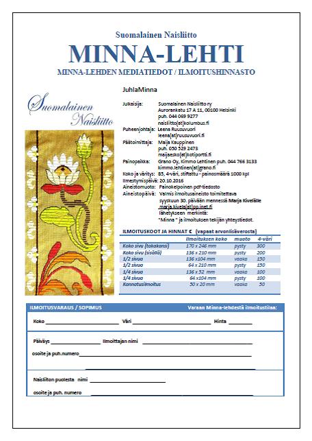 JuhlaMinnan mediakortti