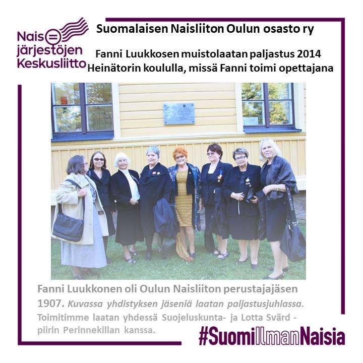 #SuomiIlmanNaisia-kampanja 1.3.2021